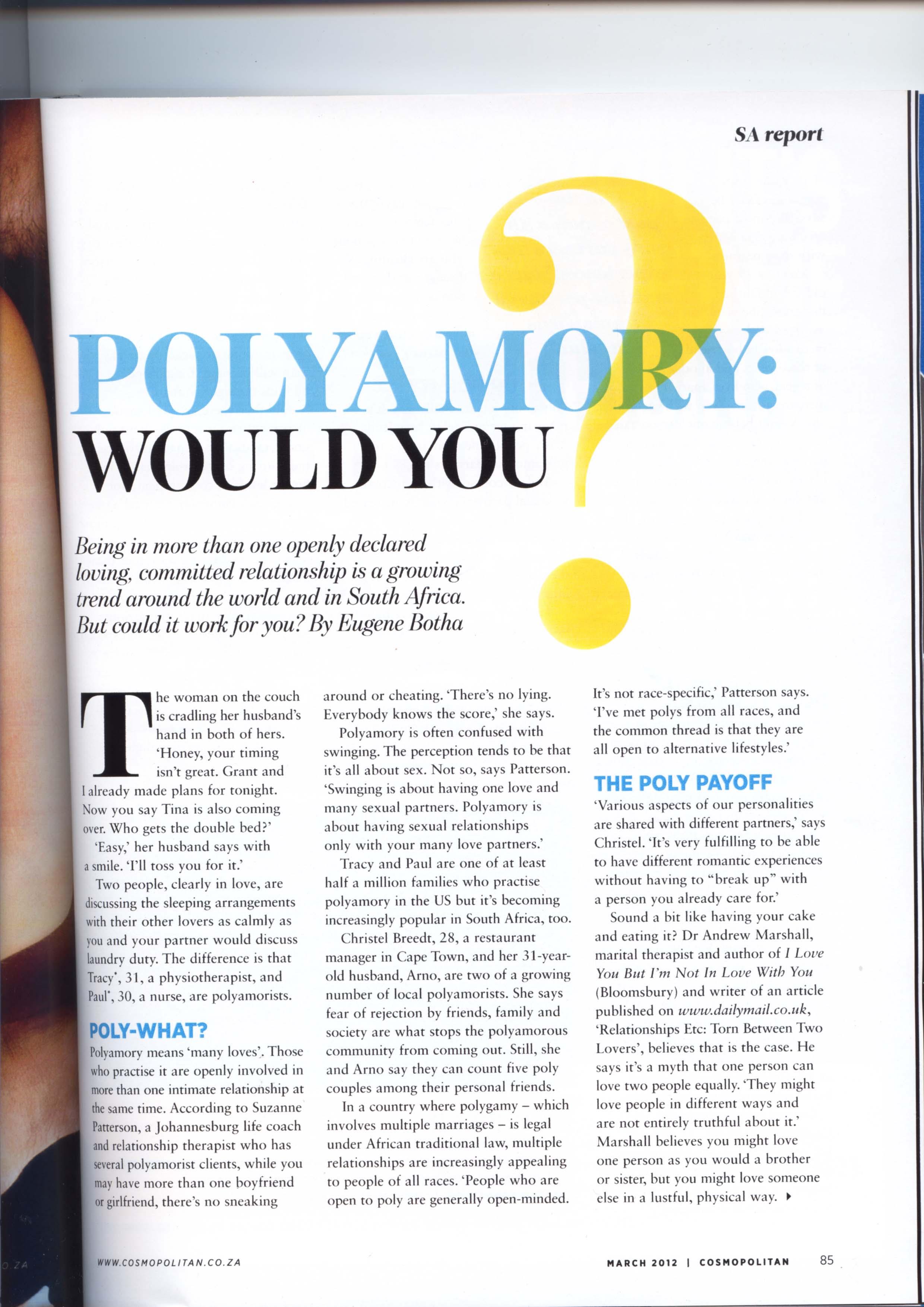 polyamory articles